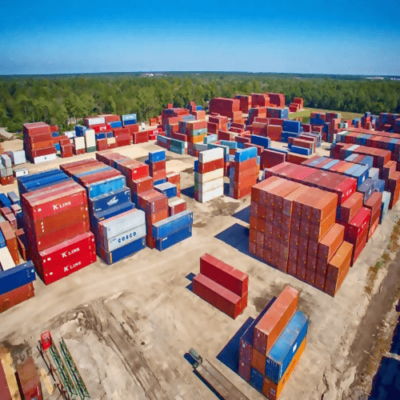 Container Depot in Cambodia